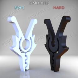 3D Printable Sextoys - Nipple Clamp - The Wolf Clamp