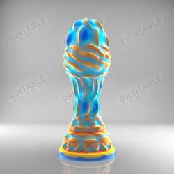 3D Printable Sextoys - Anal/Vaginal Dildo - Kuzco's Sceptre