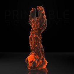 3D Printable Sextoys - Anal/Vaginal Dildo - Premium, The Diablo Idol