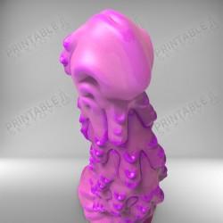3D Printable Sextoys - Anal/Vaginal Dildo - The Hot Wax Torture